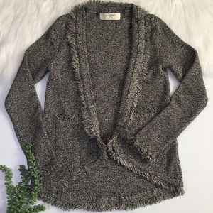 Zara Knit Metallic Cardigan | Size Medium